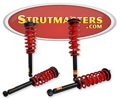 Strutmasters Rear Air Suspension Conversion Kit for 2003-2009 Lexus GX 470