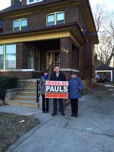 Happy Hamilton Home Buyer!! Jim Pauls Real Estate