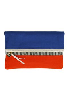 Clare Vivier Foldover Clutch, $113, available at Clare Vivier.