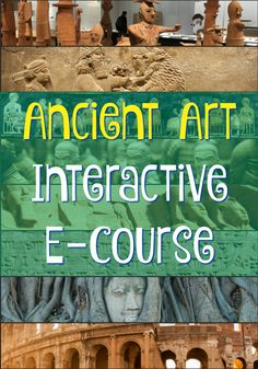 Ancient Art Around the World Online Course! Take an adventure back in time to study ancient art from around the world in this online course. Adults, teachers, and older students will have fun while learning. Enrollment ends on September 3, so register today!