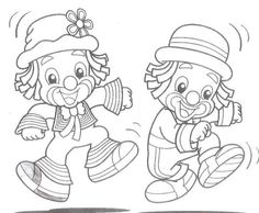 Patati Patata Colouring Pages, Adult Coloring Pages, Coloring Sheets, Coloring Books, Clown Party, Christmas Carnival, Carnival Themes, Christmas Coloring Pages, Stencil Designs