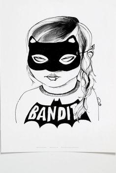 Bandit print