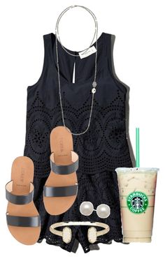 """""""when i met you in the summer..//ella"""" by preppygirls07 ❤ liked on Polyvore featuring Abercrombie & Fitch, J.Crew, Kendra Scott, Honora and Bettina Duncan"""