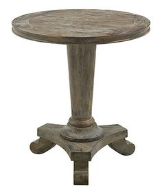 Take a look at this Gray Circular End Table by JLA Home on #zulily today!  Deliver by Christmas. Refer a friend to Zulilly...you will earn $15.00 and so will your friend after 1st purchase!