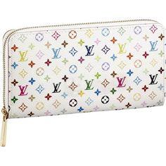 My Favorite Style,Louis Vuitton Monogram Multicolore Zippy Wallet M60242 Axu-175