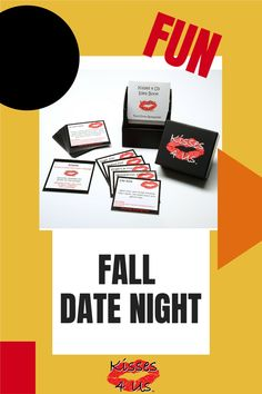 Bring on the FUN with Kisses 4 Us!  If you are looking for a different idea for your next Date Night at Home try Kisses 4 Us! Fall Dates, Flirty Texts, Forehead Kisses, Flirt Tips, Romantic Gifts, Flirting, Fun Facts, Playing Cards, Dating