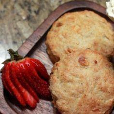Receta:Anna Olson/ White chocolate scones