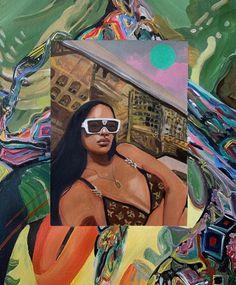 Nyc Instagram, Art Hoe, Artist Canvas, Black Art, Gemini, Mona Lisa, Disney Characters, Fictional Characters, Ink