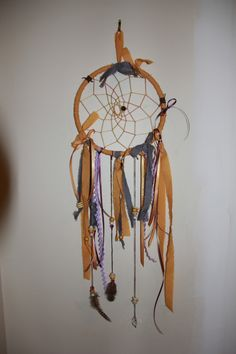 the dream catcher I made for my niece