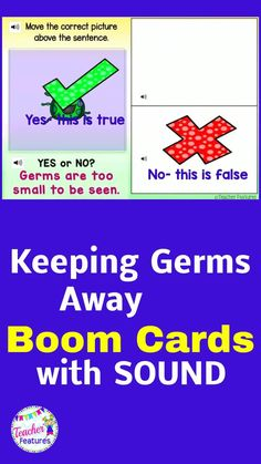 This Boom Card Health Habits deck helps students understand how to properly hand wash to avoid germs, why and how to wear masks, and how to social distance to prevent the spread of the corona virus. The Covid-19 return to school will be very different than usual Learning Sites, Teaching Tools, Teaching Resources, Classroom Resources, Teaching Ideas, Classroom Ideas, Back To School Activities, School Ideas, Back To School Essentials
