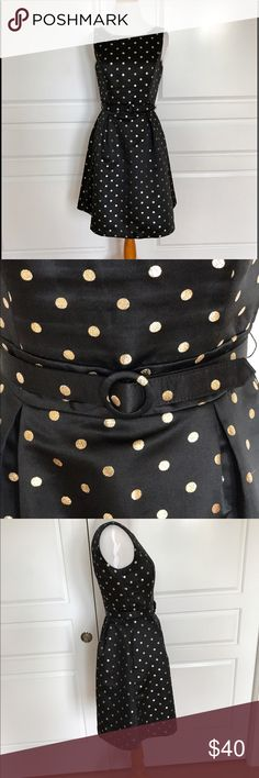 White House & Black Market Dress, size 0. Beautiful dress from W&B. Shell: 96% polyester, 4% metallic. Lining: 95% polyester, 5% spandex. Good condition. White House Black Market Dresses Midi