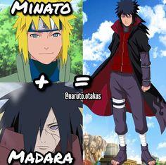 Minato+Madara= You dead. Naruto Uzumaki, Kid Kakashi, Naruto Shuppuden, Naruto Funny, Naruto Girls, Madara Uchiha, Anime Monsters, Gekkan Shoujo, Susanoo