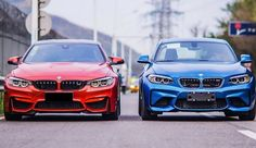 Gallery: BMW M2 ontmoet BMW M4
