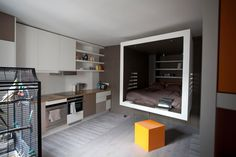Living in a shoebox   This 302-square-feet apartment feels much bigger than it actually is