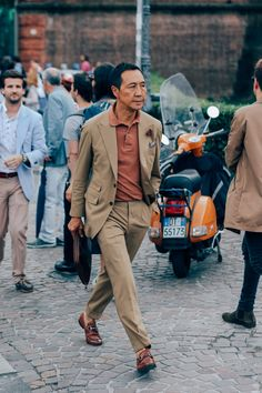 Every swervy gent who caught our eye outside the epic menswear trade show.