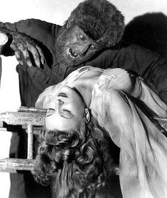 The Wolfman howls tonight and tomorrow nights on Bannerman Island! Classic Horror Movie fans will love seeing The Wolfman in the haunting Scary Movies, Old Movies, Vintage Movies, Hollywood Stars, Lon Chaney Jr, The Frankenstein, Horror Monsters, Monsters Ink, Scary Monsters