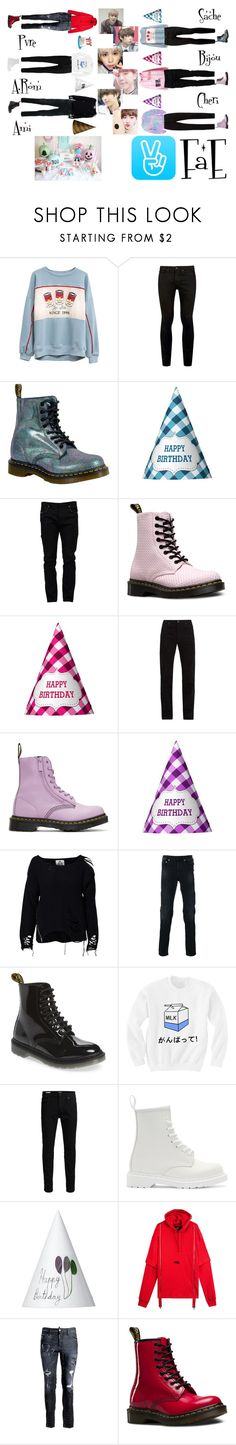 """""""✨ Happy Pvre Day V-app ✨ Outfits ✨"""" by fae-official ❤ liked on Polyvore featuring Topman, Dr. Martens, Valentino, Calvin Klein 205W39NYC, UNIF, Neil Barrett, Jack & Jones, Dsquared2, men's fashion and menswear"""