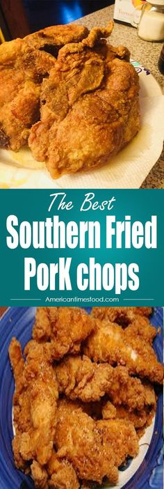 Fried PorK chops Southern Fried PorK chops – Delicious recipes to cook with family and friends.Southern Fried PorK chops – Delicious recipes to cook with family and friends. Best Fried Pork Chops, Southern Fried Pork Chops, Pork Chops Bone In, Pork Chops And Gravy, Baked Pork Chops, Sides For Pork Chops, Oven Pork Chops, Air Fryer Pork Chops, Fried Steak