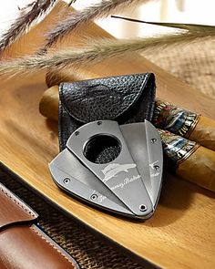 White Marlin Steel Cigar Cutter- Tommy Bahama