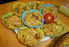 Slovak Recipes, Thanksgiving Recipes, Muffin, Eggs, Breakfast, Flowers Gif, Food, Muffins, Egg