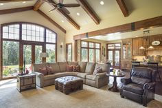 Mascord Plan 1250 - The Westfall - Beautiful NW Ranch Style Home