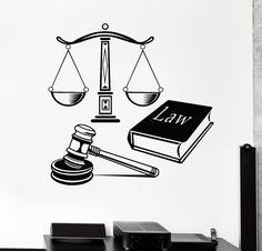One thing I truly fear is being wrongly accused in the future of a crime and being hated for it by opposing politicians. Lady Justice, Law And Justice, Justice Logo, Law Icon, Coffee Cup Art, Family Law Attorney, Lawyer Gifts, Law School, Vinyl Wall Decals