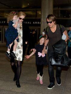 Keith Urban Photos: Nicole Kidman and Family at LAX — Part 2