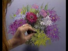 Drawing tutorial video. Drawing Flowers in Pastel by Margaret Evans. Please also visit www.JustForYouPropheticArt.com for more colorful art you might like to pin. Thanks for looking!