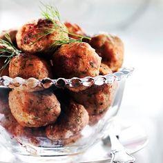 Kahden lohen pyörykät   Maku Halloumi, Falafel, Cauliflower, Meat, Chicken, Vegetables, Food, Christmas, Xmas