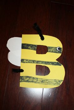 "Letter of the week craft - Letter ""B"""
