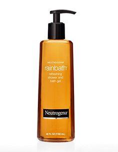 Shower/bath gel  - any kind will do, Neutrogena Rain Bath used as example - I do like it.