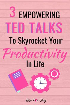 3 Powerful TED Talks To Improve Your Productivity In Life We seems to have a never ending to-do list. But, are we being productive with our time? Check out these TED Talks to improve your productivity in life. Self Development, Personal Development, Leadership Development, Best Ted Talks, Time Management Tips, Self Improvement Tips, Best Self, Me Time, Self Help