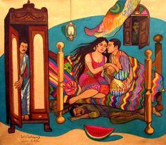 by Iraqi woman artist Wasima Al Agha