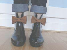 Bottes de pluie à noeuds à la Melissa x Vivienne Westwood
