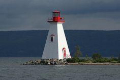 Nova Scotia - Cape Breton - Lighthouse in Baddeck