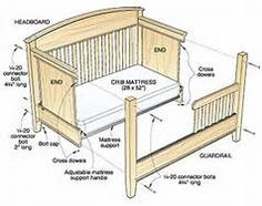 Ted's Woodworking Plans - Bed for All Ages Woodworking Plan Get A Lifetime Of Project Ideas & Inspiration! Step By Step Woodworking Plans Kids Woodworking Projects, Antique Woodworking Tools, Woodworking Workbench, Popular Woodworking, Woodworking Furniture, Furniture Plans, Woodworking Classes, Woodworking Videos, Youtube Woodworking