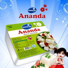 #Gopaljee Ananda #RichPaneer - Treasure of HEALTH and FITNESS Ananda #Paneer is high on fat and low on moisture. http://rsdgroup.in/