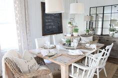 It's no secret that I've been working on our dining room, little by little. Back in February I even posted on Instagram some of the progress we had made with our very own DIY farmhouse table.  The truth is, I am the absolute SLOWEST person when it comes to putting an entire space together. …