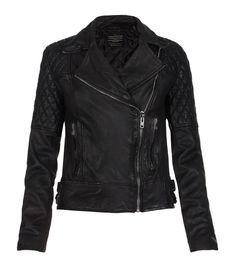 AllSaints Walker Leather Biker Jacket