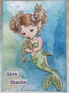 ATC featuring Sea Turtle Kiss image from Aurora Wings.