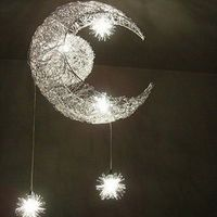 Moon Star Featured Pendant Light with 5 Lights - US$ 114.99 I have to have this.