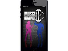 Muscle Reminder - Need a FUN app to help you keep track of what muscle you worked out (And how to do) and keep you updated on each muscle | Kickstarter