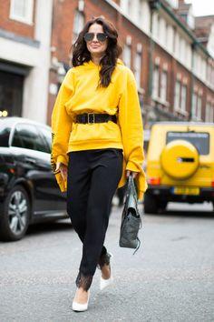 Los mejores 'looks' a pie de calle en London Fashion Week.