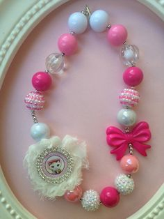 Sheriff Callie Bubblegum Necklace