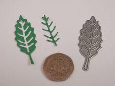 Tattered Lace Botanical Leaves Single Leaf Die 5.5cm x 2cm 2