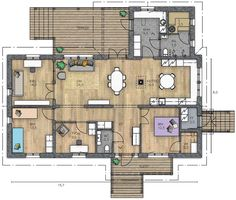 Small House Plans, Sweet Home, Floor Plans, Layout, Exterior, Flooring, How To Plan, Architecture, Building