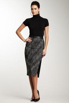 Professional and polished , Stella & Jamie Tupiza Skirt  - hautelook.com