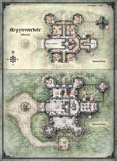 Curse of Strahd;  Argynvostholt 1 (Digital DM & Player Versions) $1.75