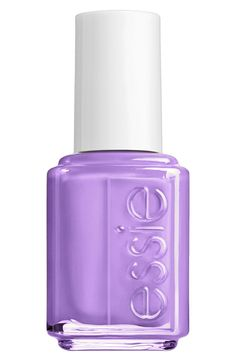 Essie Play Date Nail Lacquer | a flirtatious soft purple. | get date-night-ready with soft yet bright, adorable purple polish. for an unforgettable evening of flirtatious fun, this pretty, opaque nail lacquer is your best bet.