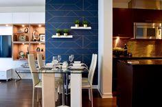 Modern condo design. Design collaborators: Reyes & Co. Design Studio and Samantha Concepcion Designs Condo, Reyes, Contemporary Interior, Interiors, Table, Furniture, Home Decor, Homemade Home Decor, Mesas